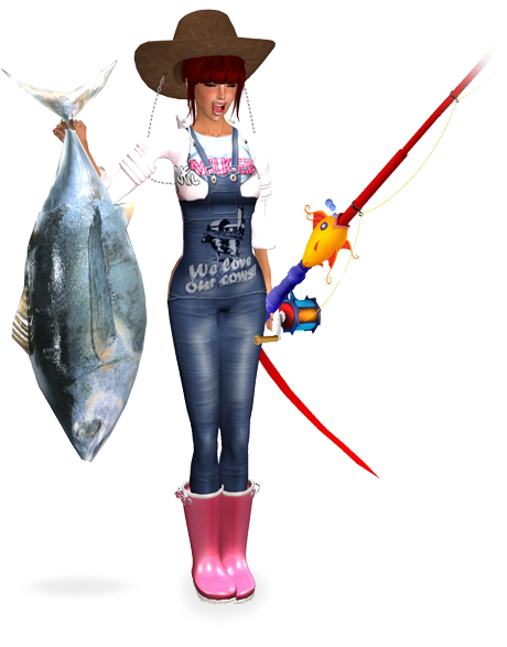Earn linden dollars and make money in second life fishing